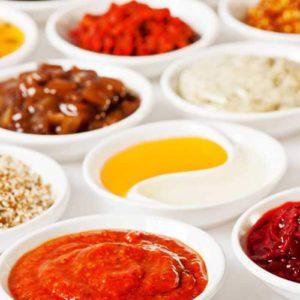 Соусы, пасты, уксус, масло