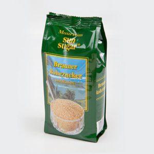 Сахар тростниковый коричневый песок в полимерном пакете SUN SUGAR